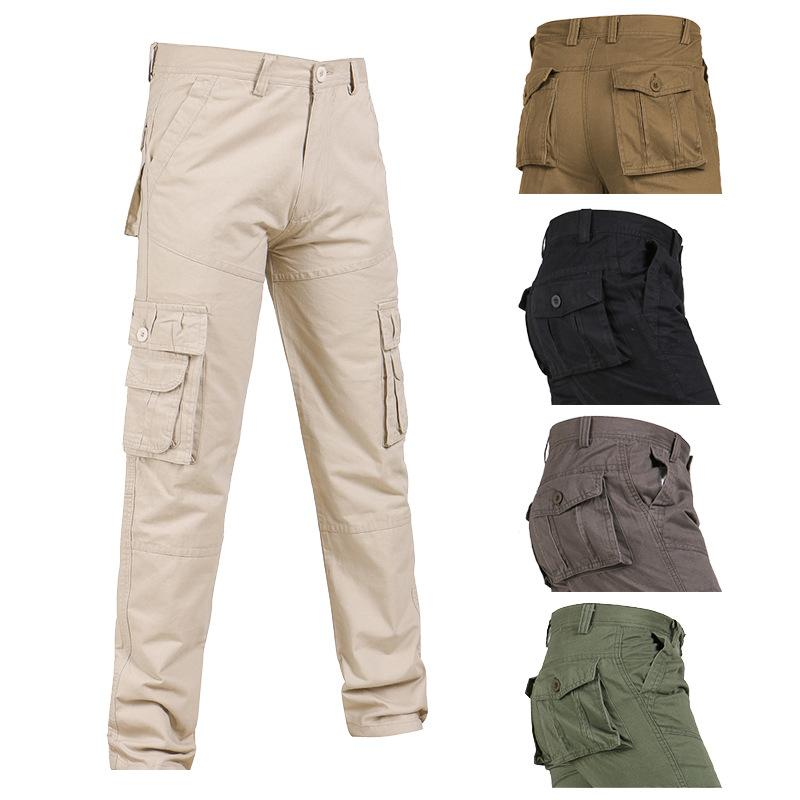 find lowest price good looking latest design Plus Size 28-40 New Men Tactical Cargo Pants Overalls Army Casual Work  Combat Trousers Style Pants