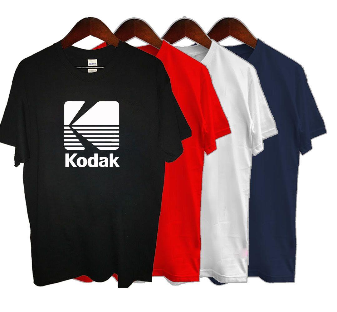 Shirt Rétro T Courtes Kodak Gratuite Unisexe Logo Casual Caméra Manches Film Livraison À Drôle Photographie FT13uKclJ