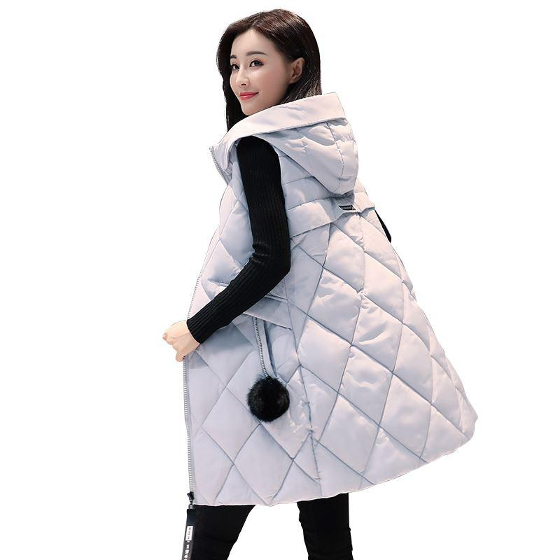 e1856b88b72 Autumn Winter Vest Women Waistcoat 2017 New Fashion Female ...