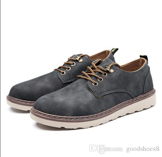 a77c16a72803d Compre Modelos De Explosiones 2019 Nuevos Zapatos Casuales Para Hombres Zapatos  Para Hombres Inglaterra Herramientas Botas Moda Para Hombres Zapatos Marea  ...