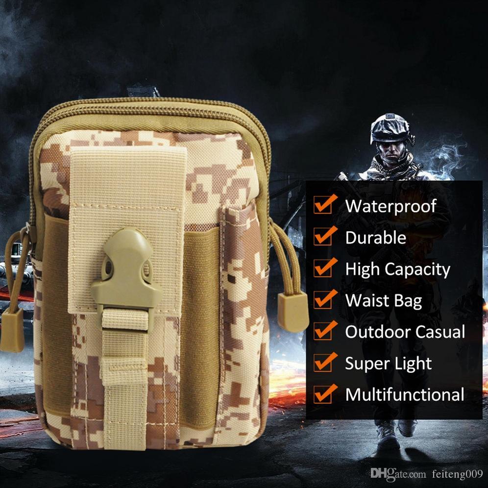 ea574d7e75 Acquista INDEPMAN Tactical Pouch Molle Caccia Borse Cintura Marsupio  Militare Marsupio Tasche Esterne Cassa Del Telefono Tasca Iphone 7 # 158903  A $19.1 Dal ...