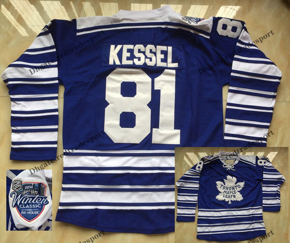wholesale dealer 6cfc6 030ff 2014 Winter Classic Phil Kessel Maple Leafs Jersey #81 Phil Kessel Toronto  Maple Leafs Hockey Shirts
