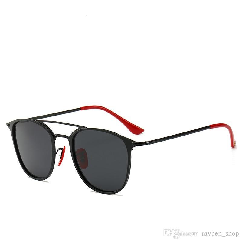 6072d0d95e Compre RayBan RB3602 Hombres Mujer Diseñador De Lujo 2019 Gafas De Sol  Ultralight TR Marco Cuadrado Gafas De Sol Gafas Polarizadas Protección UV  Lente ...