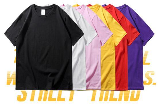 2019 new poison short-sleeved t-shirt Hip-hop street European and American street fashion loose national tide couple short sleeve