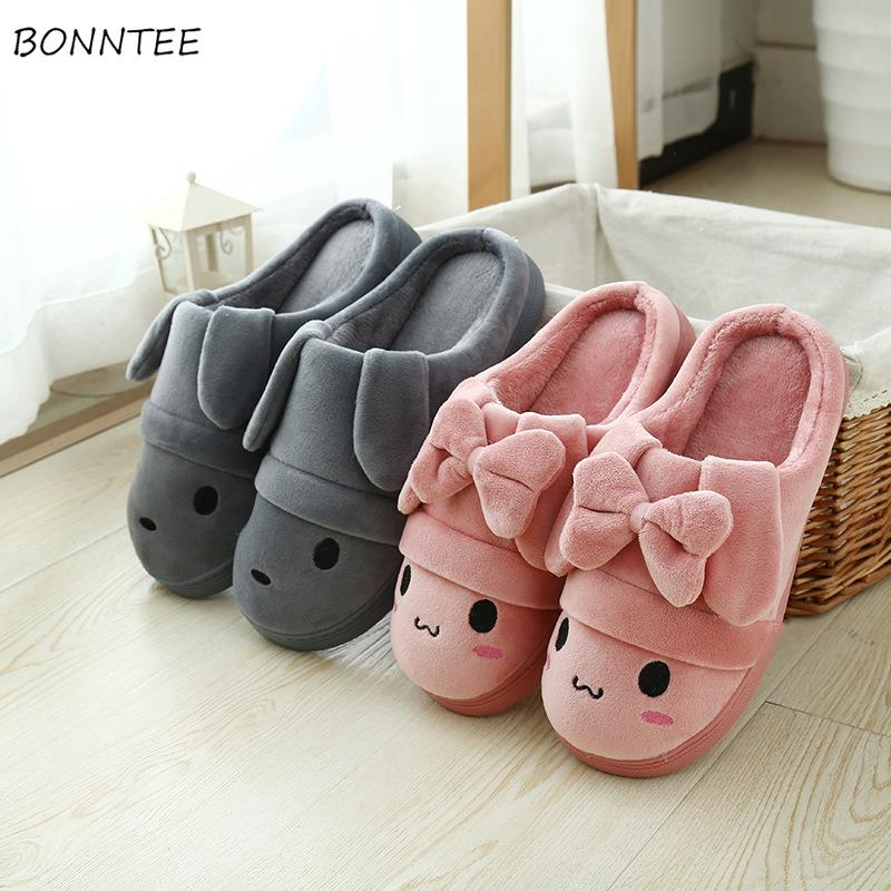 eb51161493c Winter Slippers Women Fashion Home Cotton Simple Soft Plush Slipper Warm  Comfortable Female Flat Non Slip Shoes Womens Lovely Gold Shoes Girls Boots  From ...