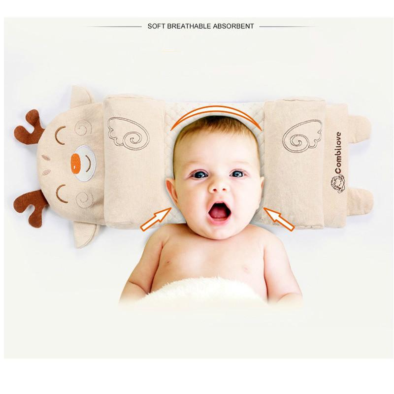 Nursery Bedding Official Website Newborn Baby Pillow Flat Head Sleeping Positioner Support Cushion Prevent Baby