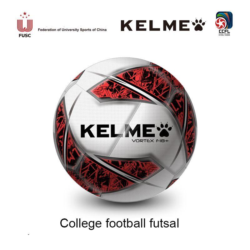 6a9e0fba86f Compre Balón De Fútbol KELME Fútbol Futsal Pelota De Entrenamiento De PU  Pelotas De Fútbol De Interior Tamaño 4 Partido K15S929 A  45.04 Del  Blacktiger ...