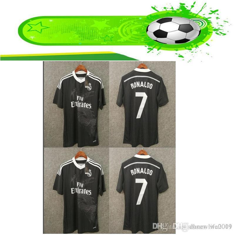 751d68100 2019 Retro Real Madrid 14 15 Home Soccer Football Jersey BALE RONALDO KROOS  BENZEMA 2014 15 SERGIO RAMOS ASENSIO From Wa0001