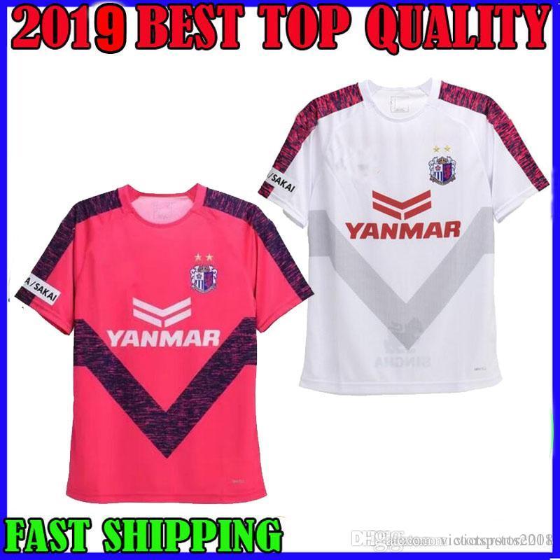 Compre 2019 Cerezo Osaka Camisa De Futebol Em Casa Rosa Branco 19 19  Toshiyuki Takagi Souza Hiroshi Kiyotake Kenyu Yoichiro Kakitani Camisas De  Futebol De ... c2dc855542c