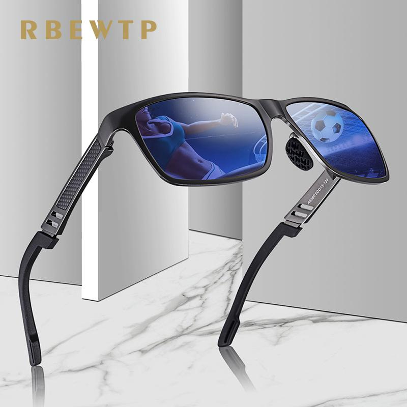 Rbewtp Original Hd Polarized Sunglasses Brand Aluminum Magnesium