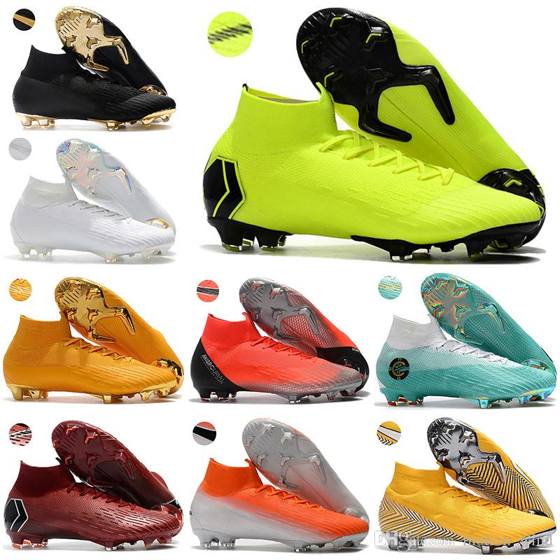 7e6c8805b Mens High Ankle Football Boots Assassin 12 CR7 Mercurial Superfly VI ...