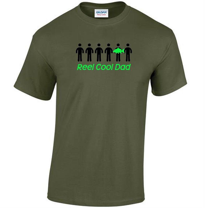 6805e914 Reel Cool Fishing Tshirt Carp Korda Fox Nash Dad Granddad Uncle Stepdad  Funny Unisex Casual Tshirt Top Cool Shirt Design Tshirts Printed From  Teeslocker, ...