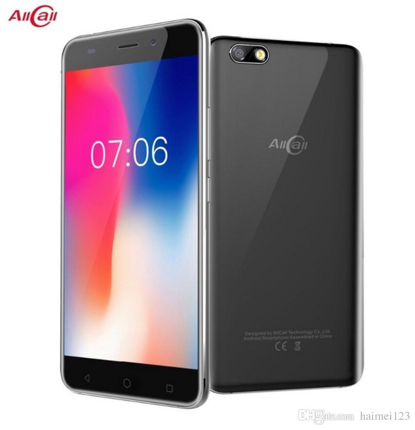 In Stock! Original AllCall Madrid 5 5 Inch HD Dual SIM Android 7 0 MT6580  Quad Core 1GB RAM 8GB ROM 8 0MP 3G WCDMA Mobile Phone