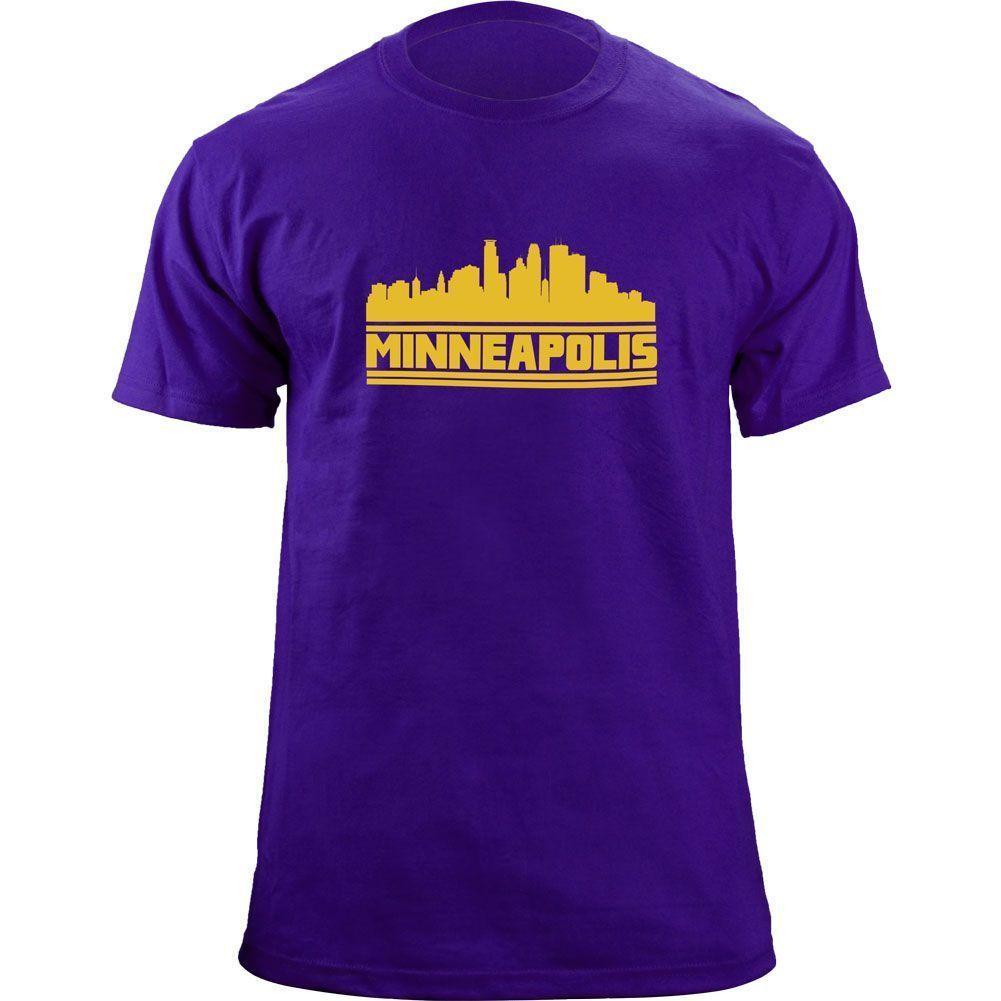 0e24218f54 Original Minneapolis Minnesota Skyline Vikings T Shirt Funny Unisex Casual  Tshirt Top Quirky T Shirt Designs Purchase T Shirt From Deepseastation, ...