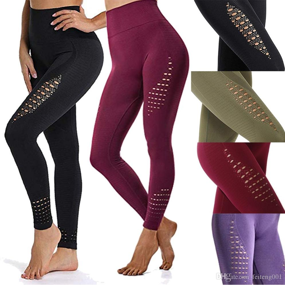 15f6ede1ca 2019 JGS1996 Women Yoga Pants Sports Running Sportswear Stretchy Fitness  Leggings Seamless Tummy Control Gym Compression Tights Pants #372379 From  ...