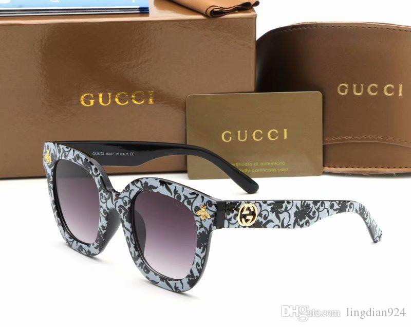 05937fe95 Bee Sunglasses Brand Designer Women Fashion Sunglass Colorful Frame ...