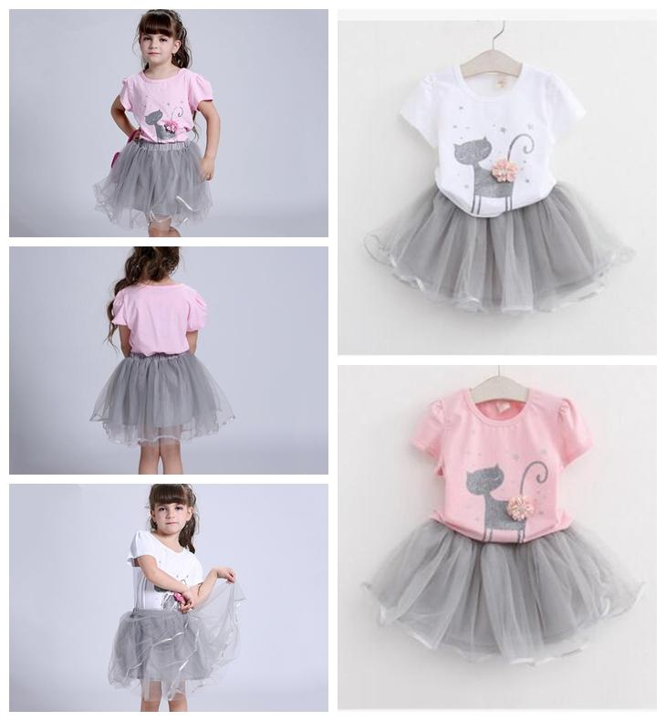 Sincere Baby Girls Clothing Set Summer Newborn Baby Fashion Tops Vest+tutu Dress 2pcs Clothes Suit Toddler Girls Latest Fashion Clothing Sets