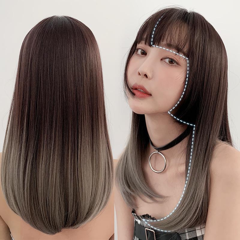 Perruque Femme Japonaise Ji Cheveux Réaliste