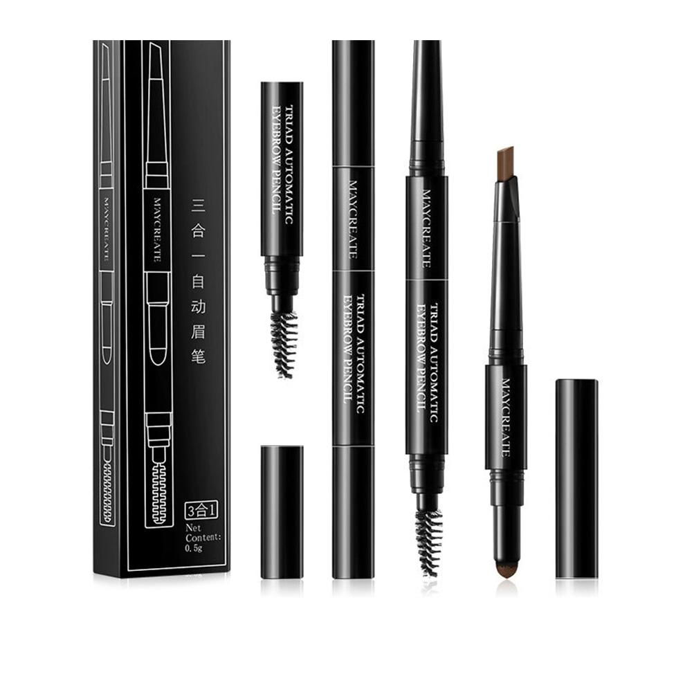 3 In 1 Eye Brow Set For Women Waterproof Brow Pencil + Eyebrow Powder +  Brush Waterproof Eyebrow Pencil Cosmetics Tool For Women Makeup Bags  Eyeshadow ... 6ea4a4258