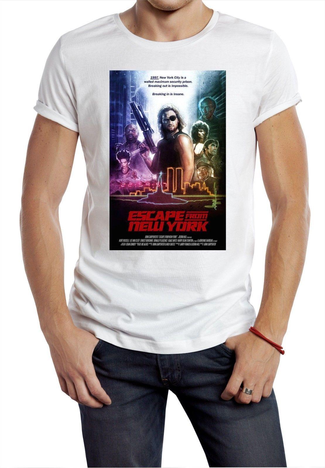 Compre Escape De Nova Iorque Camiseta Filme De Cobra Retro 80s Clássico  Filme Presidente Futuros Homens Tops Tees Casual Tshirt Masculino De  Ironmantees a91c4ff9092a0