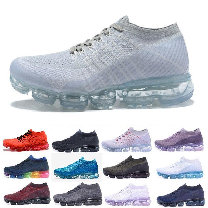 ad1bb66a0542 Air Mens Designer Shoes Women Outdoor Cheap Triple Black White Shock ...