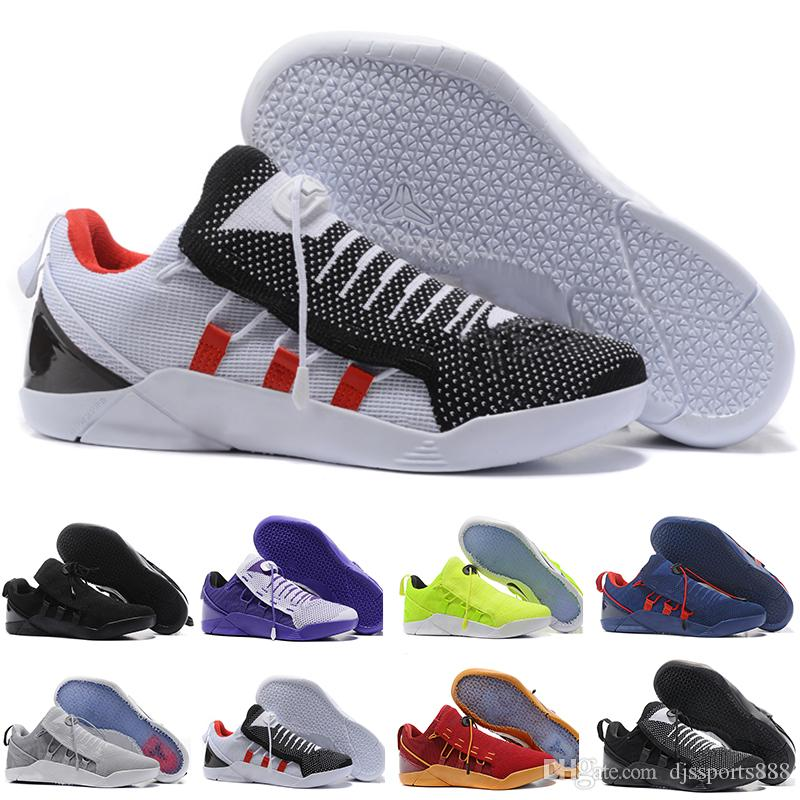 3ccb3a25a4be 2018 High Quality Kobe 11th Generation Knit Elite Casual Shoes Kobe 11 Red  Horse Monkey KB 11 Shoess Casual Shoes Size 40 46 Shoe Sale Shoes Uk From  ...