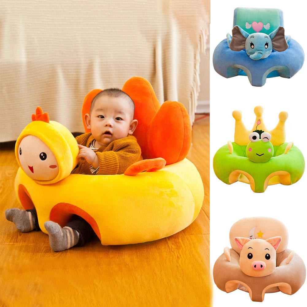 Colorful Infant Baby Seat Learning Sitting Seat Chair Portable Feeding Chair Children's Plush Toy Baby Sofa Children's Plush Toy