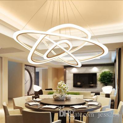 Grosshandel Moderne Led Pendelleuchten Nordic Wohnzimmer Beleuchtung