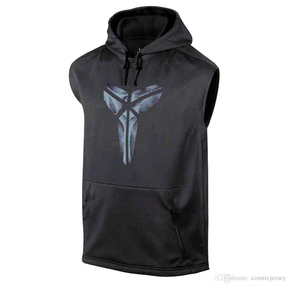 c47e69aa 2019 Basketball Jersey T Shirt Sleeveless Hoodie Gyms Clothing Training  Uniforms Basketball Jerseys Sportwear Black Vest Running Shirts Hoodies  From ...