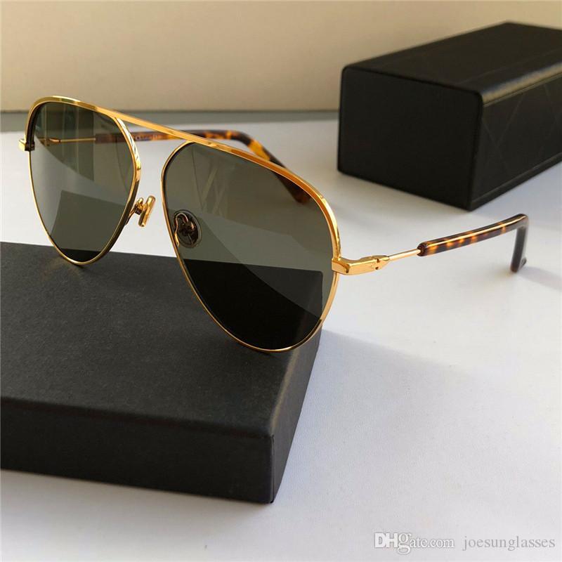 09482e4081 New Fashion Designer Sunglasses Metal Pilot Simple Frame Popular ...