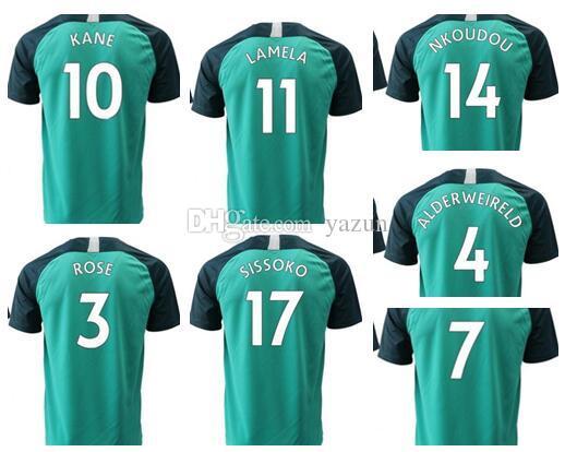 personality men customized 18-19 KANE 10 LAMELA 11 DIER 15 DELE Thai  Quality sports jerseys near me,online store custom mens Soccer Jerseys,