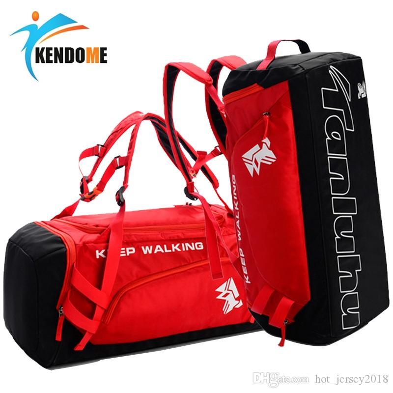 60bc342a0a47 2019 Hot Big Capacity Outdoor Training Gym Bag Waterproof Sports Bag  Fitness Men Women Multifunction Shoulder Travel Yoga Handbag  29549 From  Hot jersey2018 ...