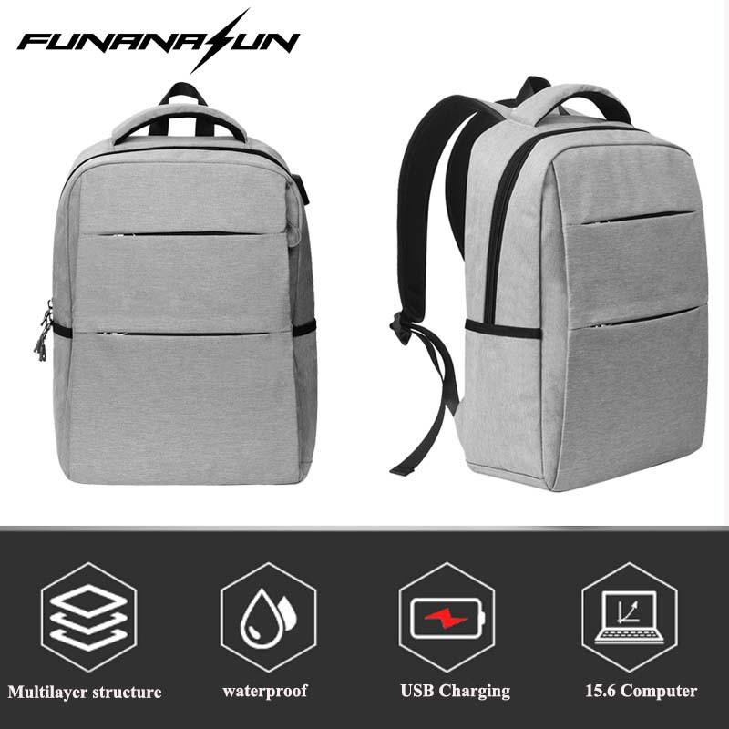 807782e6cc Outdoor Bag Travel Backpack Women Large Capacity Business USB Charge Men  Laptop Backpack College Student School Shoulder Bag Backpacks Bags From  Wearbag