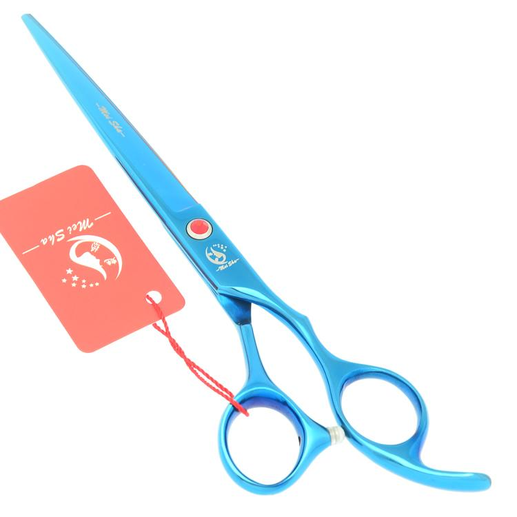 "Meisha 7.0"" Steel 440c Hair Cutting Scissors Human Hair Shears Hairdresser's 6.5 Inch Thinning Scissors Pet Dog Clipper HA0365"