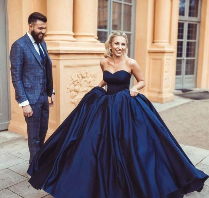 93b150bb7d4b 2019 Cheap Navy Blue Quinceanera Dress Sleeveless Formal Princess Sweet 16  Ages Girls Prom Party Pageant Gown Plus Size Custom Made Australia 2019  From ...