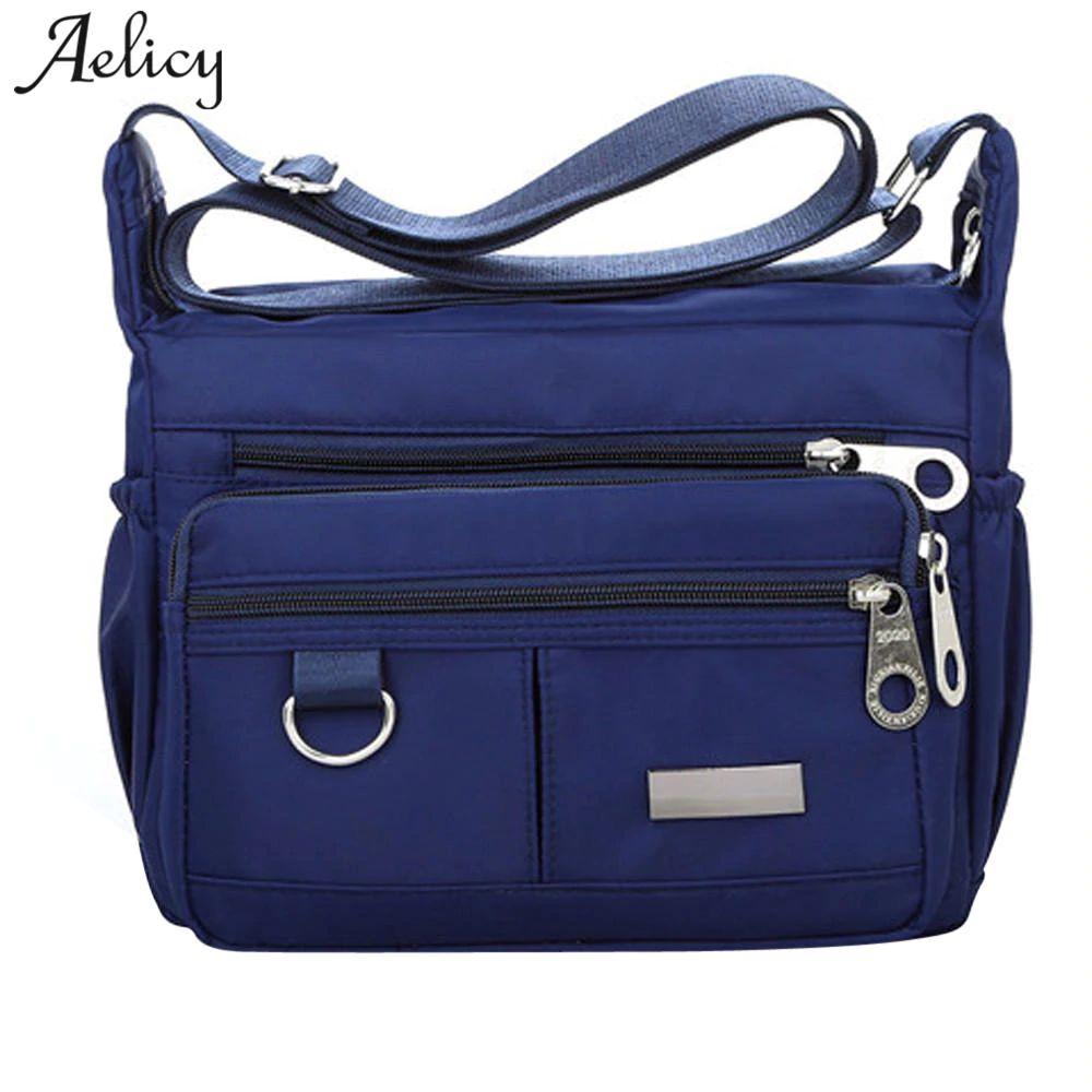 62d923c8c883 2018 Fashion Women Messenger Bags For Women Waterproof Nylon Handbag Female  Shoulder Bag Ladies Crossbody Bags Bolsa Sac A Main Leather Backpacks  Shoulder ...