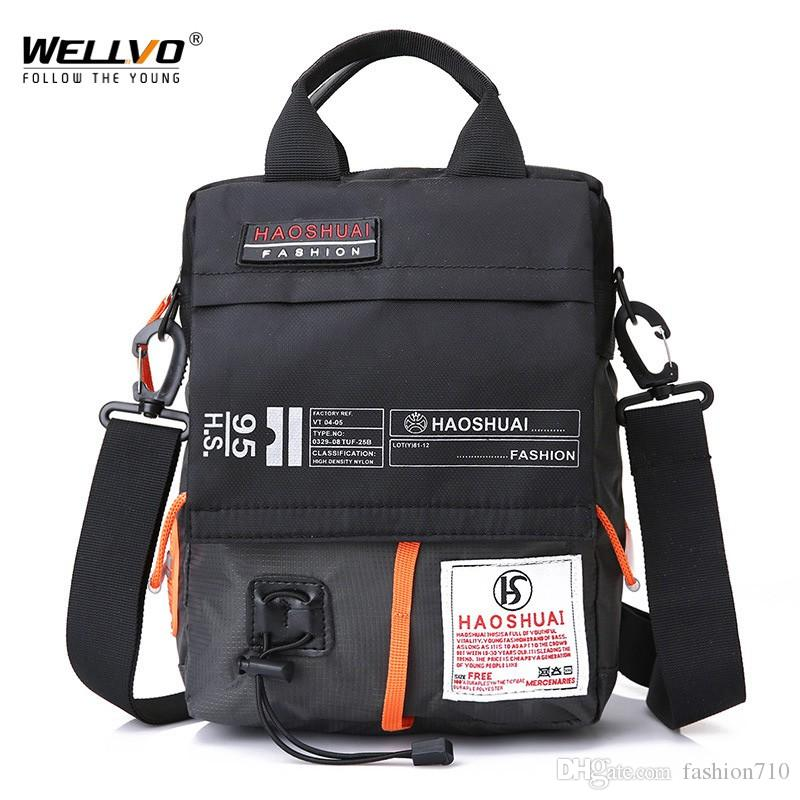 8c1989853ef1 Men S Bag Messenger Bag Male Waterproof Nylon Camouflage Satchel Over The  Shoulder Crossbody Bags Handbag Mini Briefcase XA99WC Leather Handbag Red  Handbags ...