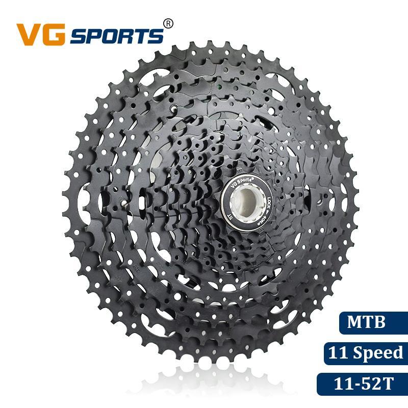 VG Sports Pro 10 Speed Cassette 11-34T Mountain Bike Freewheel for Shimano SRAM