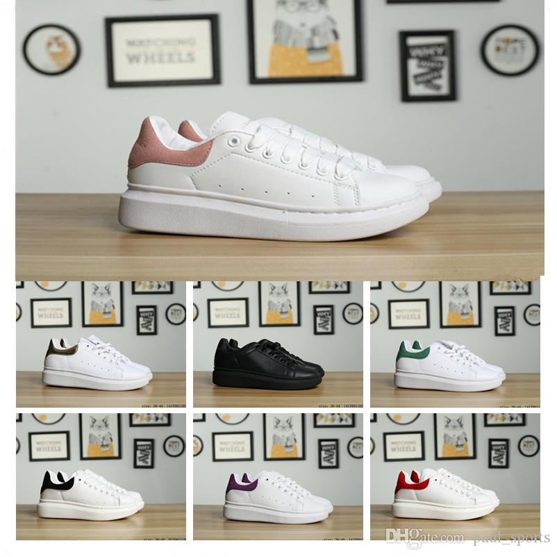3eedb48226fd Cheap Sale Italy Luxury Sole Low Fashion Designer Platform Sneakers White  MC Casual Shoes For High Quality Men Women Trainers Size 36 44 Mens Boots  ...