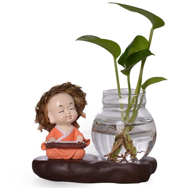 hydroponic other vases glass transparent other decorations