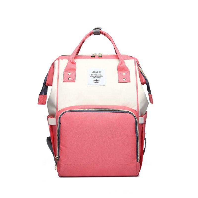 Bhite /& Black UK Baby Diaper Nappy Changing Bag Maternity Mummy Backpack Red