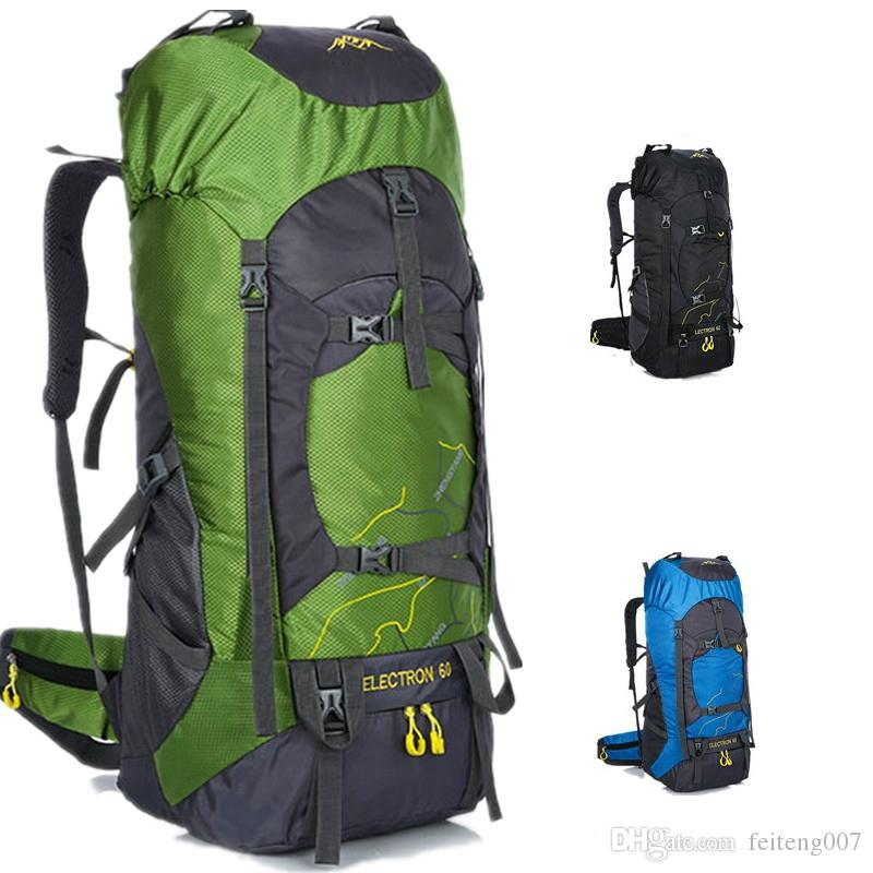 96ec3acad4db New 60L Large Capacity Camping Sports Bag Travel Bag Outdoor Hiking  Backpack Waterproof Scratch Resistant Multi Function #443802