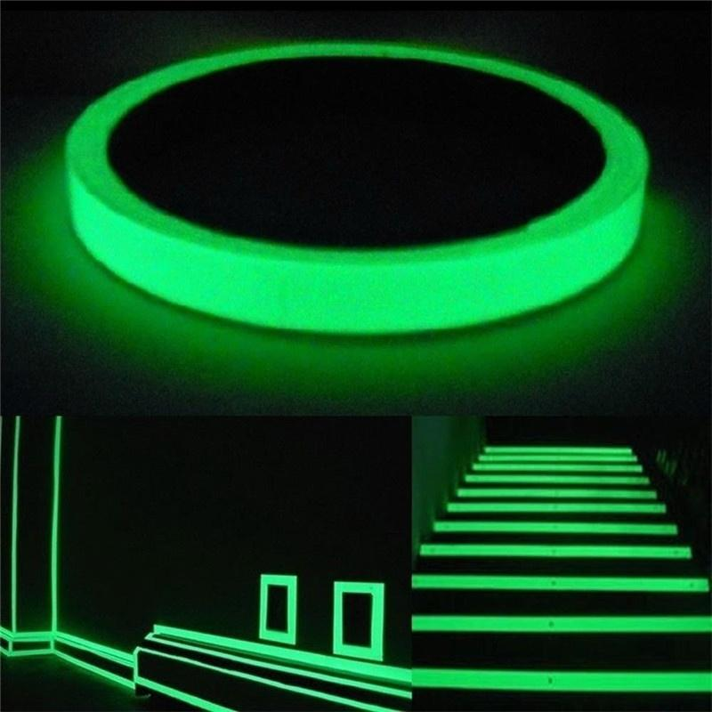 2016 Leshp Luminous Tape 3m Length Self -Adhesive Tape Night Vision Glow In Dark Safety Warning Security Stage Home Decoration Tapes