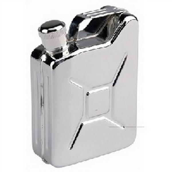 por dhl 200 unids 5 oz Jerrycan Oil Jerry Can Licor Hip Flask Wine Pot Acero inoxidable Jerrican Fuel Petrol Gasolina puede