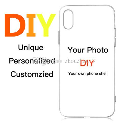 Custom logo case Personal Customization Design Printed Case Coque For xr Max XR 6 6s 7 8 DIY LOGO Photo Back Cover