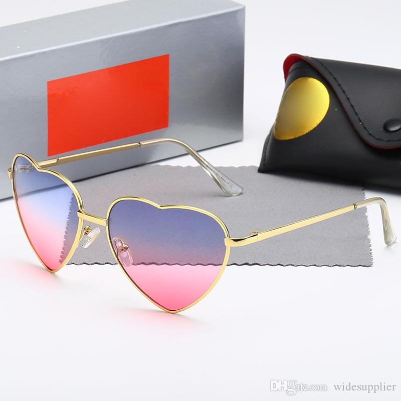 5d1271608f868 Creative Heart Designer Sunglasses For Men Women Retro Sunglasses Sunglasses  Fashion Glasses Women And Men Quality Glasses Online Polarized Sunglasses  From ...