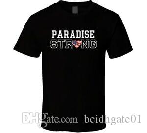 Paradise Strong American Pride Family Last Name Cool T Shirt