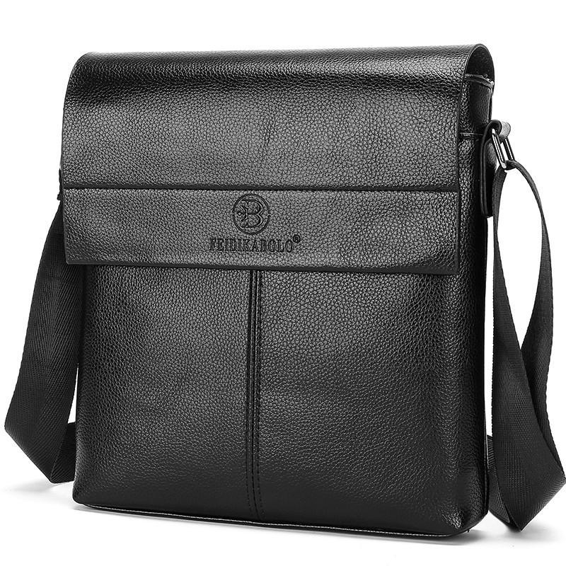 Feidikabolo New Collection Fashion Men Bags Male Leather Messenger Bags Man Travel Business Crossbody Shoulder Bag Men's Handbag Y19051802