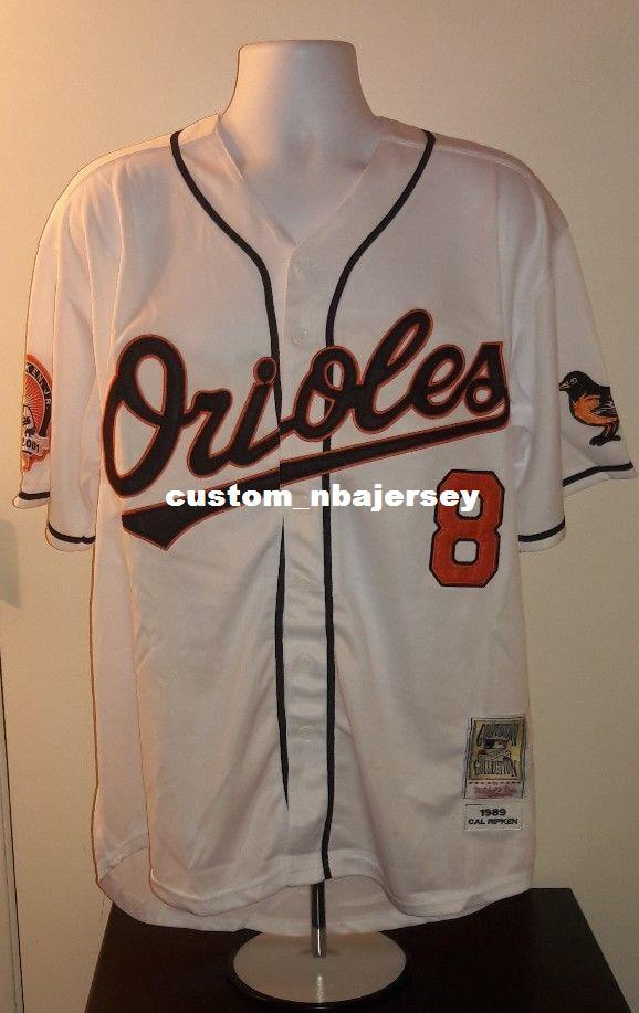 bb27b137d1af 2019 Cheap Custom Cal Ripken Jr. 1989 Retro Jersey Stitched Customize Any  Number Name MEN WOMEN YOUTH XS 5XL From Custom nbajersey