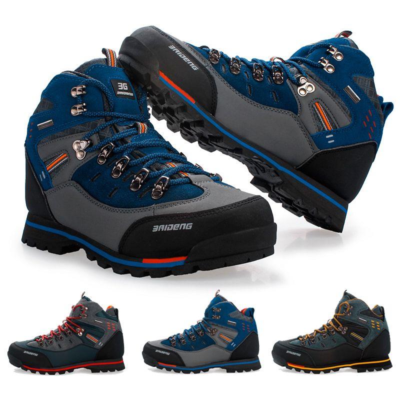 Acquista Scarpe Da Trekking Outdoor Traspiranti Da Uomo In Gomma Resistente  Suola Arrampicata Alpinismo Escursionismo Scarpe Da Ginnastica Scarpe  Sportive ... eaa2399f055